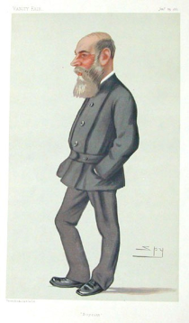 Cartoon of Captain Boycott (source Ask About Ireland)